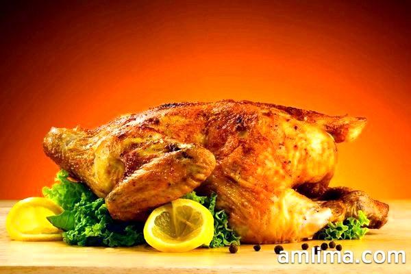 Апетитна курка гриль з лимоном