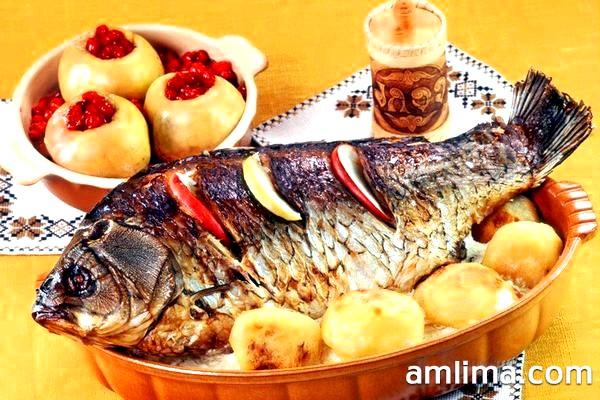 Як приготувати сазана в духовці: 4 рецепта вкуснейшей рибки!