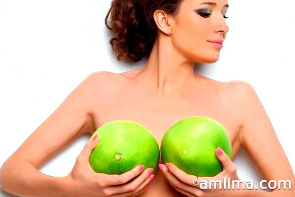 Як збільшити груди народними засобами: продукти, настої, компреси