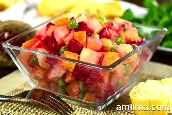 Класичний рецепт вінегрету: готуємо корисний для здоров`я салат