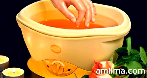 Ванночка для процедури парафінотерапія для рук