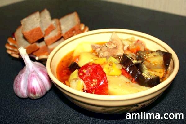 Рецепт хашламу з баранини, а також з яловичини, свинини та курки з фото