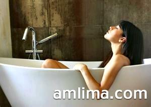 Ванна зі скипидаром будинку