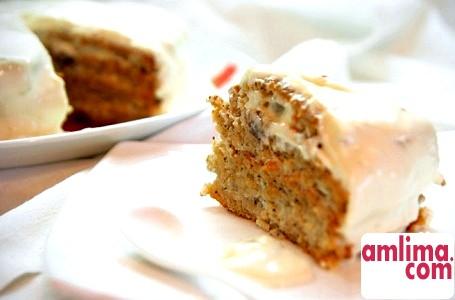 Бісквітний торт з сирним кремом - такі різні десерти