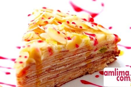 Млинцевий торт з сирним кремом: неабиякі рецепти
