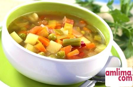 Боннський суп для схуднення та очищення організму