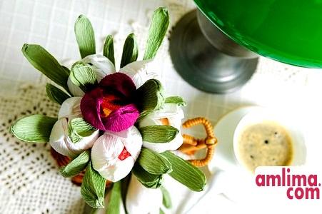 Букети з цукерок своїми руками, або Солодка флористика