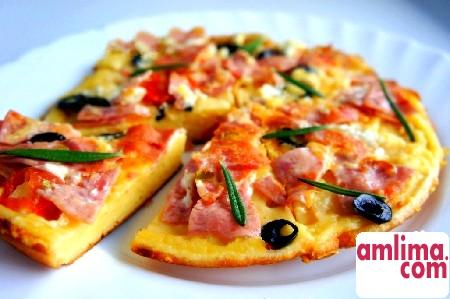 Швидка піца - рецепт для самих нетерплячих