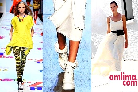 Що модно носить з кедами в 2015 году?