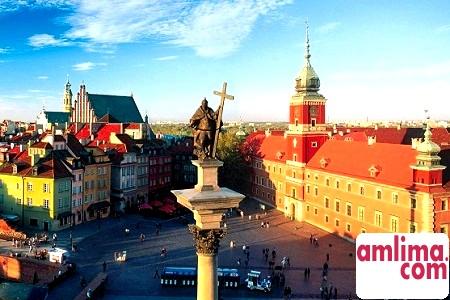 Пам'ятки у Варшаві