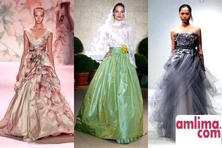 Кольорові весільні сукні 2015, щоб заявити про себе голосно!