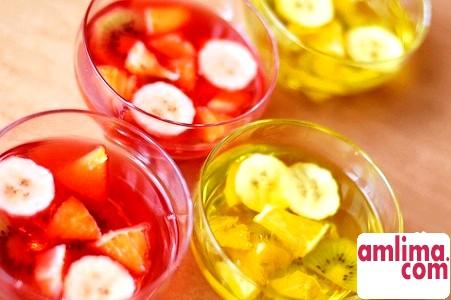 Десерти з желе - корисне ласощі
