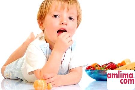 Дієта при алергії для дитини