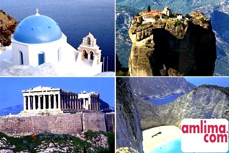 Визначні пам'ятки Греції. Відпочинок богів