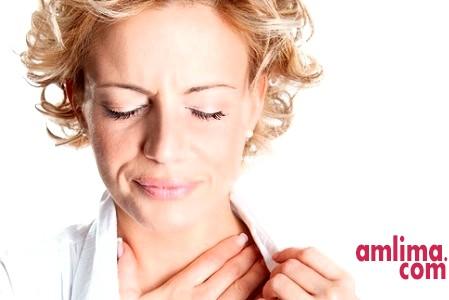 Якщо болить горло під час вагітності