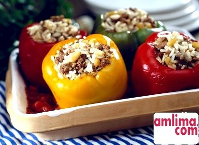 Фарширований перець - улюблене блюдо гурмана