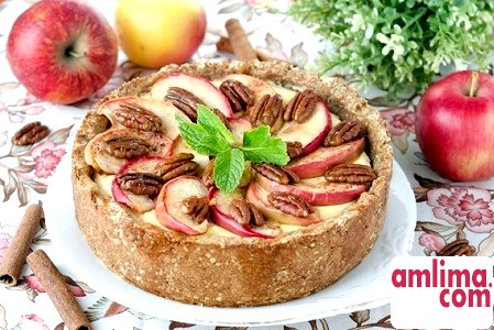 різні рецепти яблучного пирога
