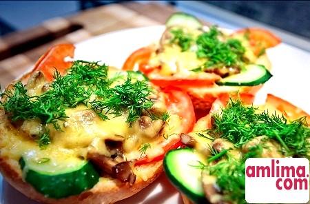 Гарячі бутерброди в духовці - швидко, смачно і ситно!