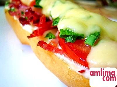 Гарячий бутерброд
