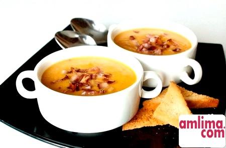Гороховий суп пюре - смачно, корисно, економно