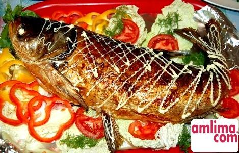 Риба фарширована