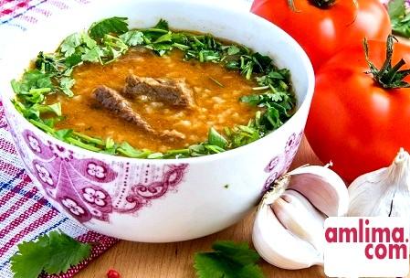 Харчо з баранини - національний кавказький суп