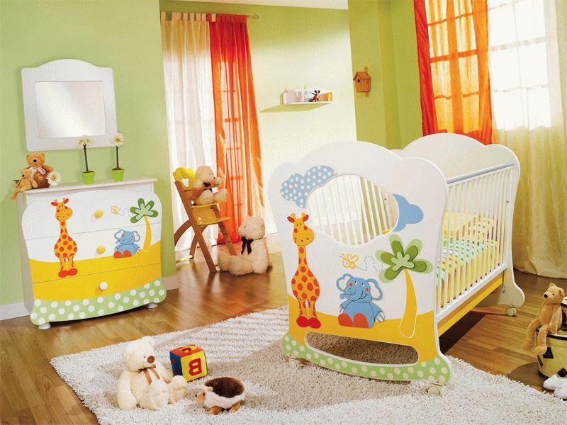 Інтер'єр, дизайн, оформлення і меблі для дитячої кімнати (хлопчик)