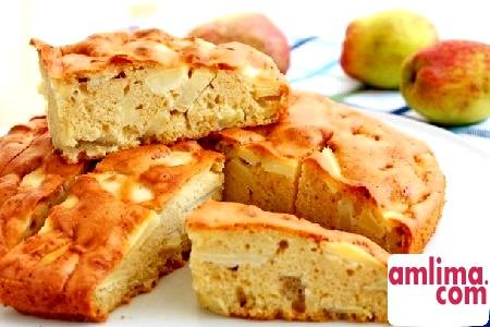 Яблучний пиріг без яєць: рецепти вегетаріанської кухні