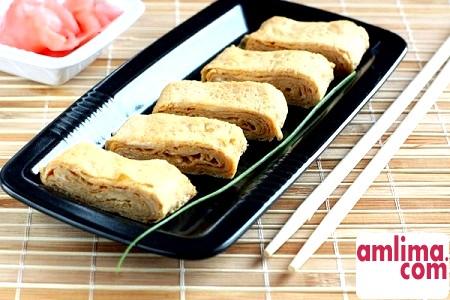 Японський омлет - осягаємо таємниці східної кухні
