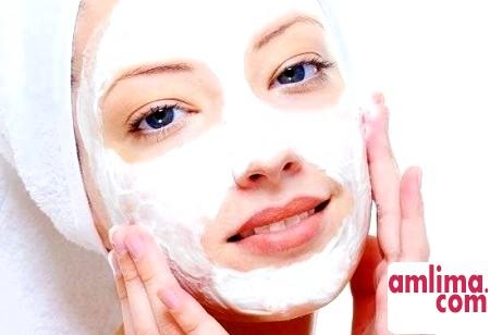 яєчна маска-плівка для обличчя