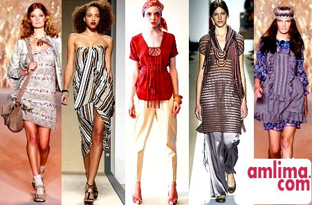 Етнічний стиль в одязі - повернення до фольклору