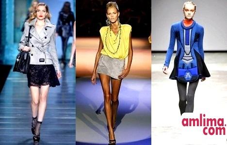 Спідниця-трапеція: фото з показів, модні Тенденції