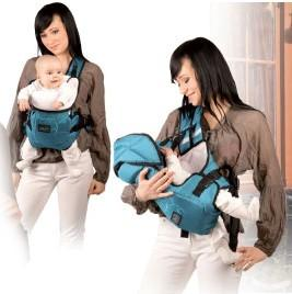 Фото - Худнемо після пологів: природна навантаження носіння дитини в дитячому кенгуру