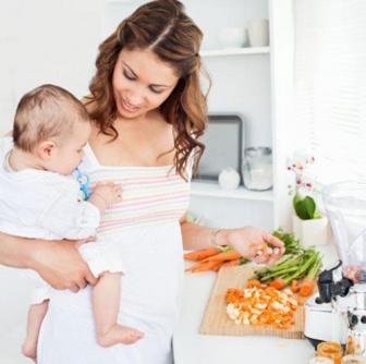 Фото - харчування годуючої мами для того щоб схуднути після пологів