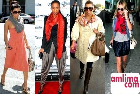 Як носити і пов'язувати шарф стильно?