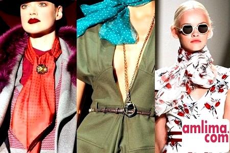 Як носити хустку на шиї: поради стилістів