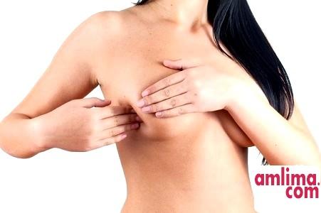 збільшення грудей одна з ознак вагітності