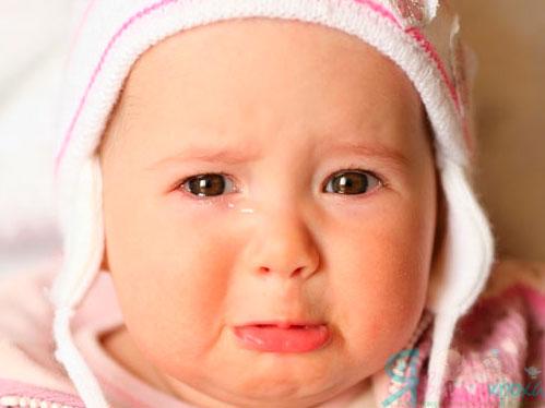 Як зупинити плач малюка