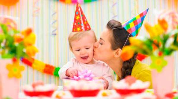 Як відзначити перший день народження дитини вдома (сценарії та конкурси)