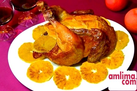 Як побалувати рідних: курка з апельсинами