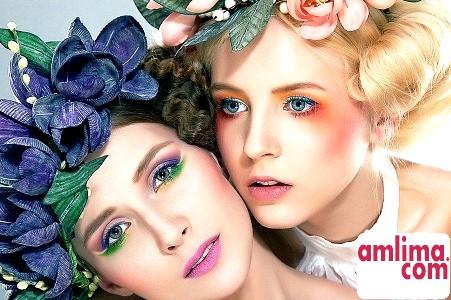 Як правильно наносити денний макіяж для блакитних очей?
