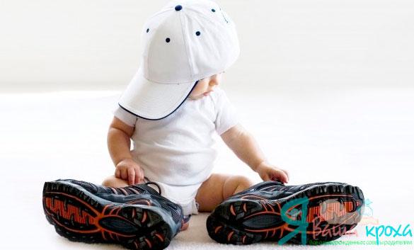 Як правильно вибрати взуття для маленької дитини