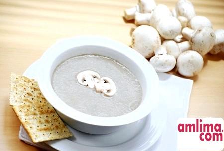 Як приготувати грибний суп-пюре