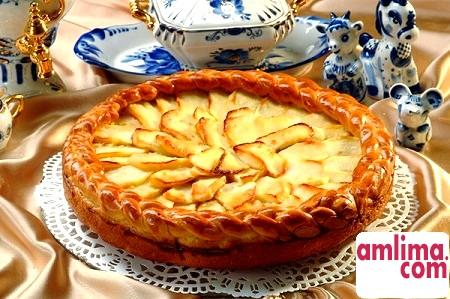 Як приготувати ледачий пиріг з яблучною начинкою