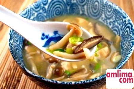 швидкий рецепт грибного супу в мультиварці
