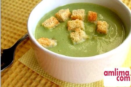 суп пюре зі шпинату рецепт