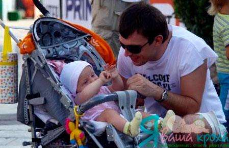 Фото - залучаємо тата до догляду за дитиною