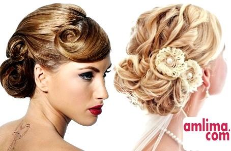 Як зробити весільну зачіску