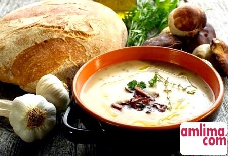 Як зварити грибний суп