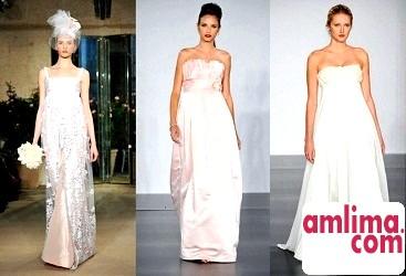 весільні сукні для вагітних 2015 фото